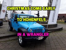 CHRISTMAS COMES EARLY... in Hohenfels, Germany