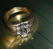 Bridal ring set KEEPSAKE /Walmart in Quantico, Virginia