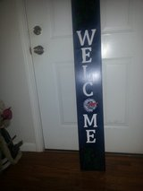 New - HAND PAINTED SNOWMAN WELCOME SIGN in Fort Knox, Kentucky
