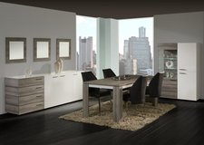 Moulin Dining Set in Mara + White - - China + Table 160 + 4 Chairs including delivery in Grafenwoehr, GE