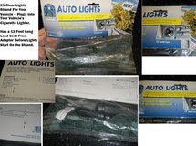 Christmas Clear Auto Lights For Your Car / Truck ~ Powered By 12V Adapter (Cig Plug Thing) in Houston, Texas