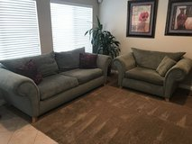 Beautiful sage couches in San Diego, California