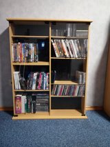 CD/ DVD Cabinet w/glass doors in Baumholder, GE