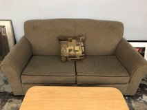 Brown couch in Camp Lejeune, North Carolina