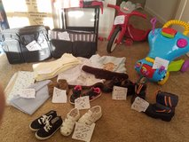 Various children's items in Fort Carson, Colorado