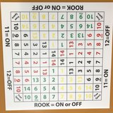 On/Off Rook Game Board in Fort Campbell, Kentucky