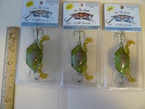 CW Crab fishing lures in Camp Lejeune, North Carolina