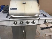 Stainless steel BBQ grill in Alamogordo, New Mexico