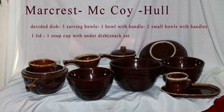 Mc coy /Hull / Marcrest brown drip stoneware in Shreveport, Louisiana