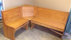 Kitchen corner booth seating plus bench no table in Algonquin, Illinois