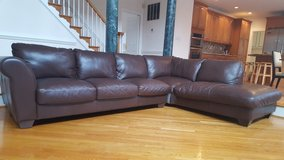 SOFTLINE S.P.A LEATHER SECTIONAL in Fairfax, Virginia