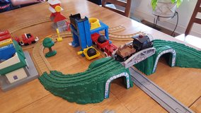 Fisher-Price GeoTrax train sets with 4 trains in Fort Campbell, Kentucky