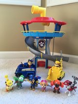 Paw Patrol Lookout Playset with 6 figures in Joliet, Illinois