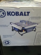 Kobalt 7 Inch Wet Tile/Stone Saw with Laser and LED Work Light #0325791 in Fort Campbell, Kentucky