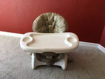 Fisher Price space saver high chair in Ruidoso, New Mexico