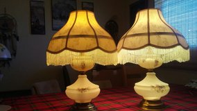 vintage porcelain lamps in Yucca Valley, California