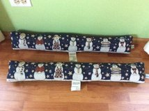 "Snowmen draftblockers, about 31"" long. Never used. in Lockport, Illinois"