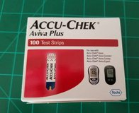 1- 100 ct Box Accu-Chek Aviva Plus Test Strips in Camp Lejeune, North Carolina