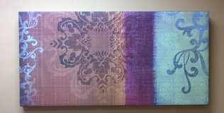 Canvas wall painting artwork rectangle in Glendale Heights, Illinois