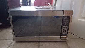 Stainless Steel Panasonic Microwave Oven in Fort Campbell, Kentucky