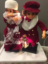 Pair of Vintage Victorian Christmas Carollers in Glendale Heights, Illinois