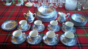 39 piece blue royal avondale China in Hemet, California
