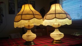 Vintage porcelain lamps in Hemet, California