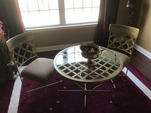2 CHAIRS AND TABLE in Naperville, Illinois