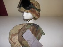 pasgt helmet with three covers and goggles in Alamogordo, New Mexico