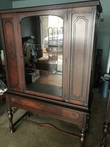 Beautiful Antique China Cabinet (Matching buffet also available) in Warner Robins, Georgia