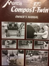 Compost twin double barrel composting system in Fort Leonard Wood, Missouri