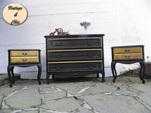 Shabby Chic Dresser Chest of Drawer and two Nightstands French Style in Ramstein, Germany