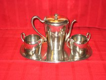 VINTAGE PEWTER COFFEE/TEA SET in Chicago, Illinois