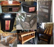 custom coffee table, bars, shelves, dart board cases..... in Fort Leonard Wood, Missouri
