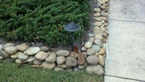 Wanted large smooth river rocks for edging my flower bed in Travis AFB, California