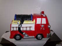 Fire Truck Cookie Jar with Siren Noise in Oswego, Illinois