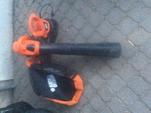Black and Decker leaf blower and vacuum in Ramstein, Germany