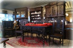 one of a kind Renaissance style dining room set with 6 chairs in Baumholder, GE