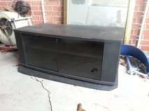 Black television stand in Cherry Point, North Carolina