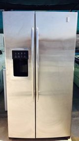 GE Profile Stainless Steel Side by Side Refrigerator in Temecula, California