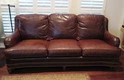 Whittemore-Sherrill Leather Couch in San Antonio, Texas