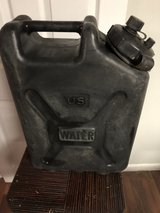 5 Gal Black Plastic Water Can in Fort Knox, Kentucky