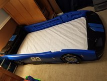 Race car twin bed in Conroe, Texas