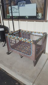 Gently used Cisco Baby play pen in Yucca Valley, California