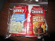 BAG OF CAMPBELLS SOUP LABELS in Plainfield, Illinois