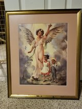 "Beautiful ""GOD 's CHILDREN "" Framed/Matted Print in Beale AFB, California"