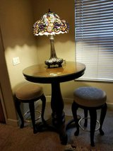 Lovely Cherrywood Pub Table w/Barstools in Silverdale, Washington