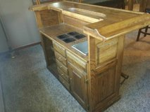 SOLID OAK BAR/ SELF CONTAINED FEATURES in Silverdale, Washington