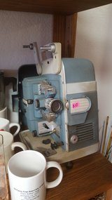 8mm projector in Yucca Valley, California