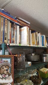 Vintage and newer cookbooks in Yucca Valley, California